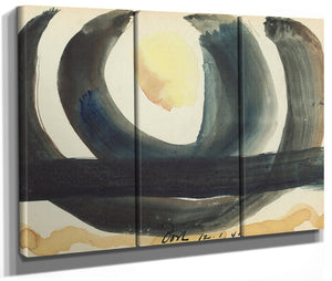 Sunrise Iii (Set Of Three) By Arthur Dove