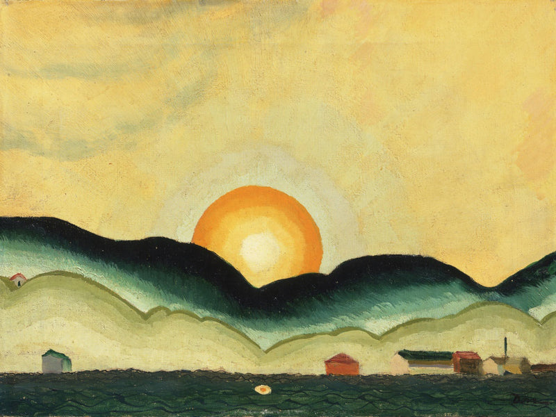 Sunrise, Northport Harbor By Arthur Dove