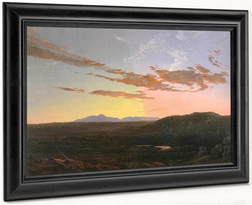 Sunset 1856 65 By Frederic Edwin Church