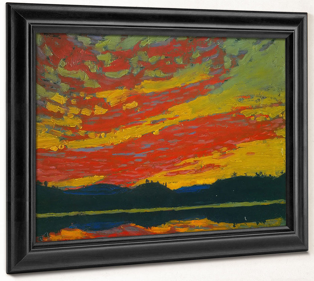 Sunset 1915 By Tom Thomson