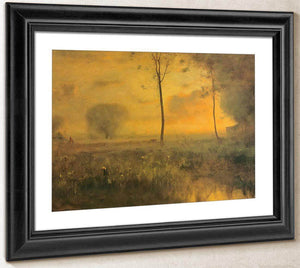 Sunset At Montclair By George Inness