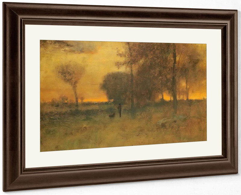Sunset Glow By George Inness
