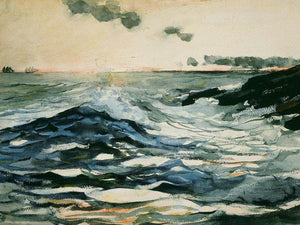 Sunset Prout's Neck By Winslow Homer