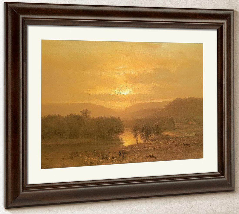 Sunset By George Inness