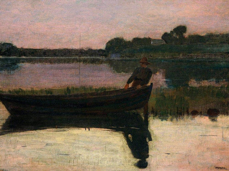 Sunset By Homer Winslow
