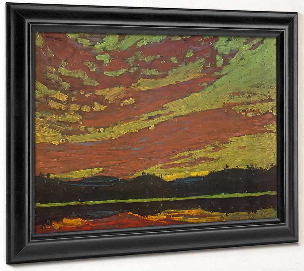 Sunset By Tom Thomson