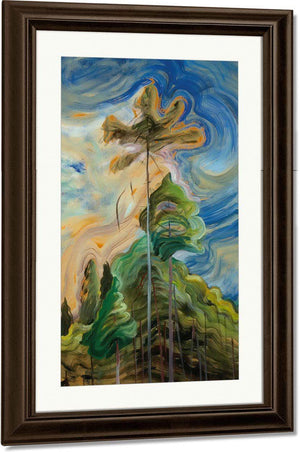 Sunshine And By Tumult By Emily Carr