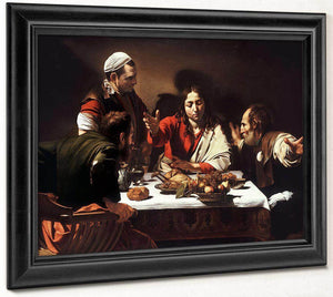 Supper At Emmaus 1602 By Caravaggio