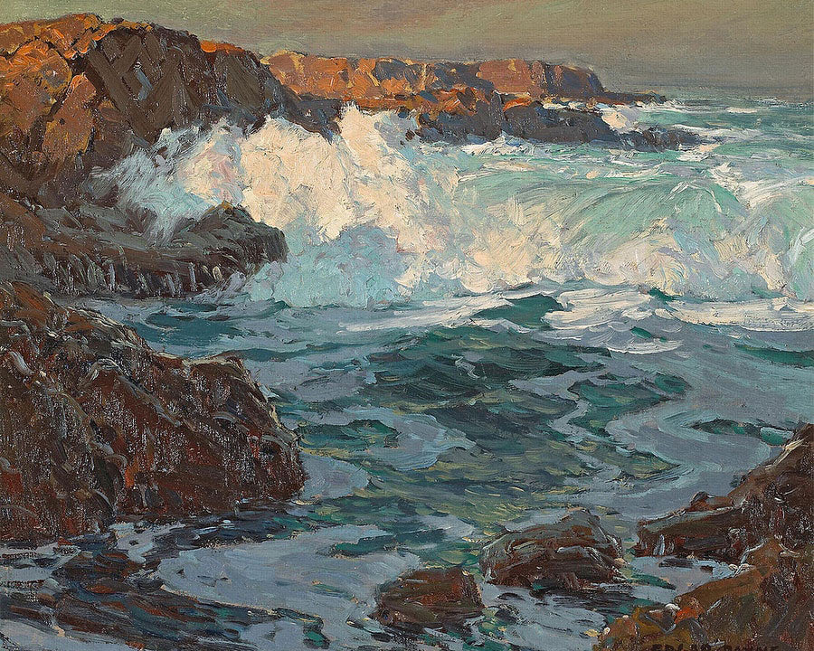 Surging Sea By Edgar Payne