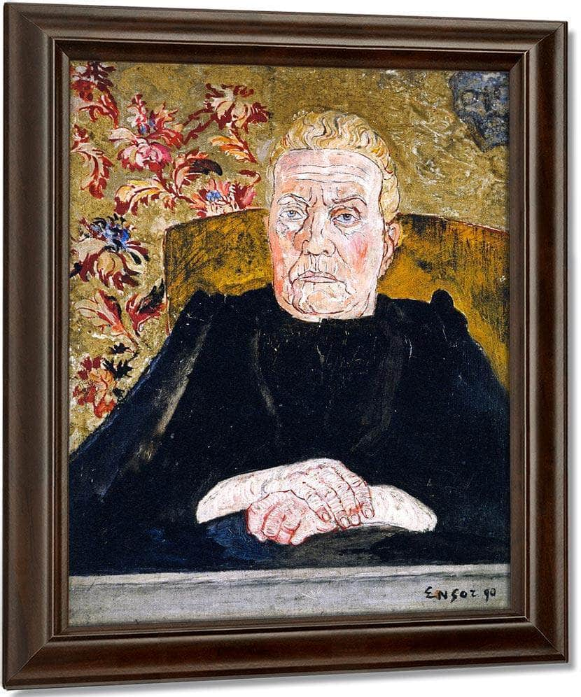 Surly Countenance By James Ensor