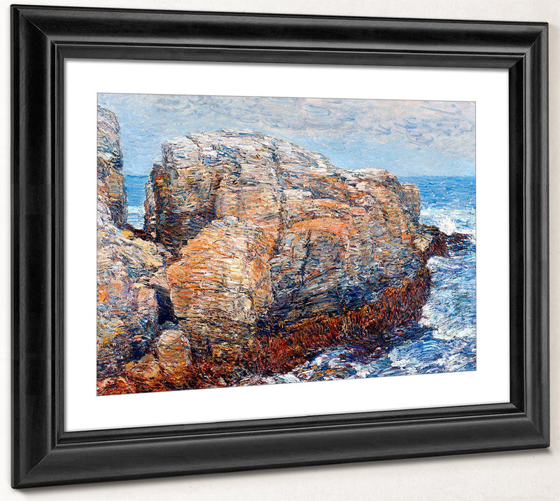 Sylph's Rock Appledore By Childe Hassam