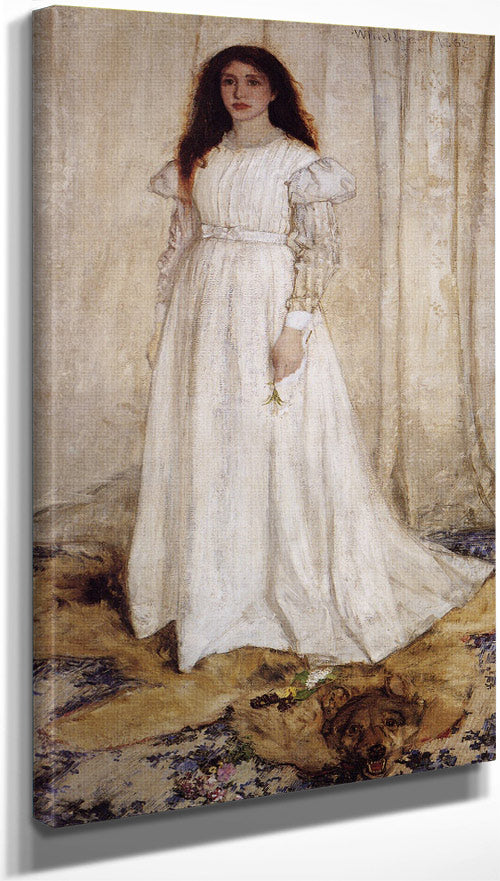 Symphony In White No 1 (The White Girl) 1862 James Mcneill Whistler