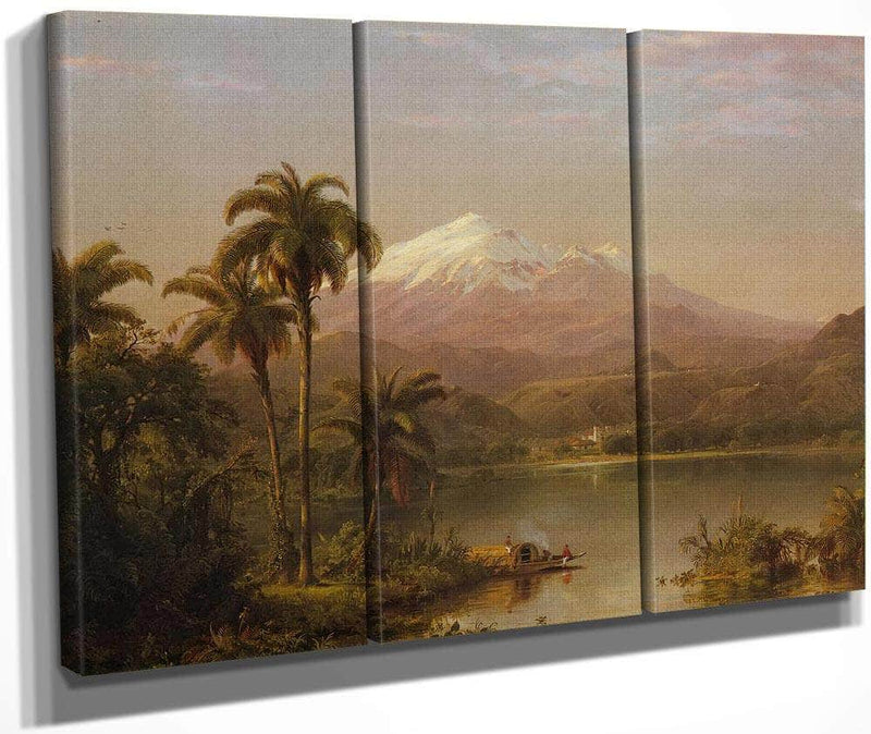 Tacama Palms By Fredric Edwin Church