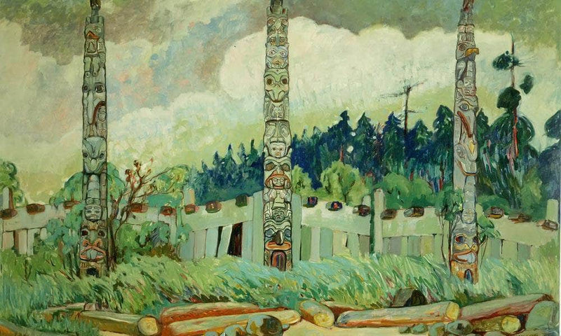 Tanoo Qci By 1913 By Emily Carr