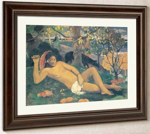 Te Arii Vahine ( The King's Wife) By Paul Gauguin