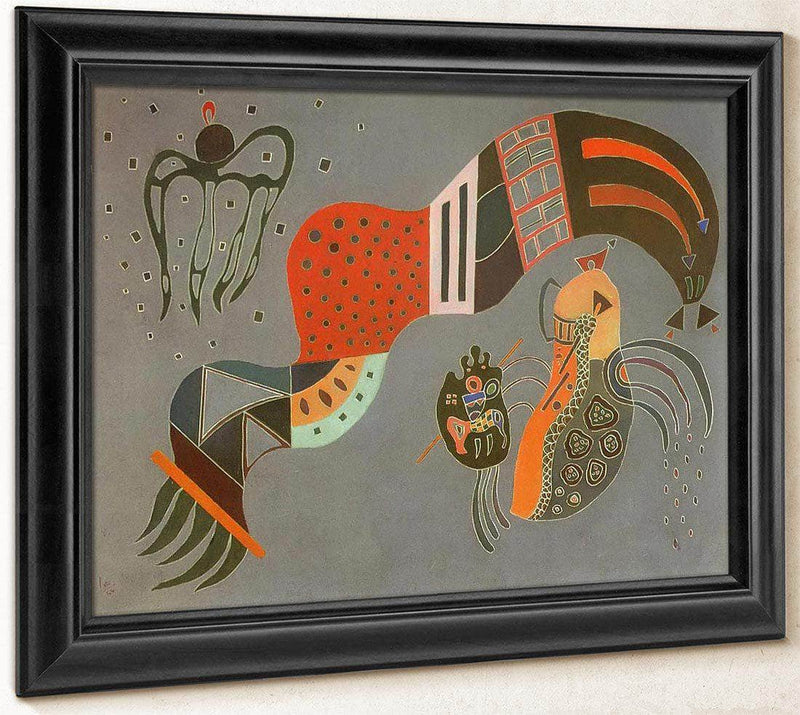 Tempered Elan 1944 By Wassily Kandinsky
