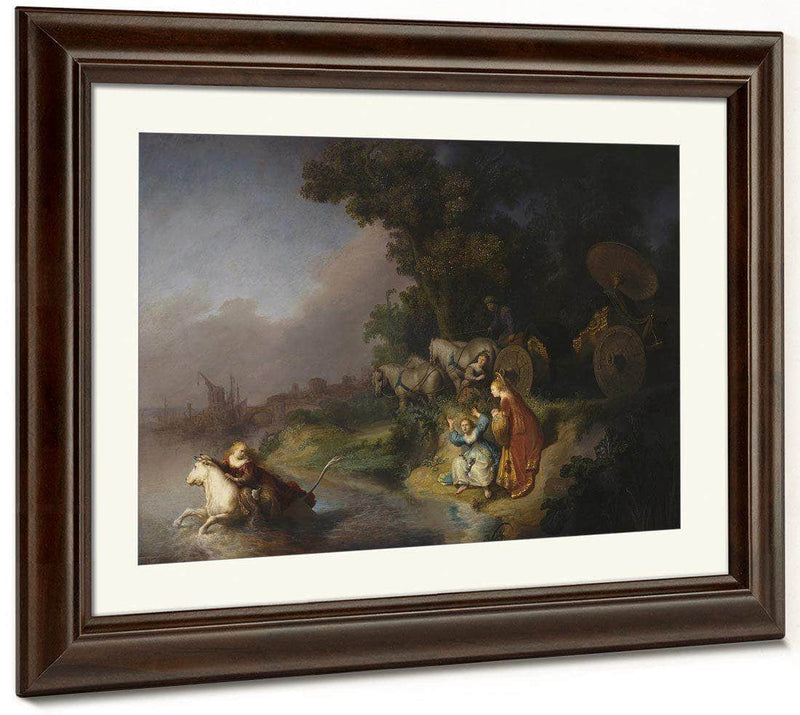 The Abduction Of Europa By Rembrandt