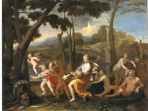 The Abduction Of Rinaldo By Nicholas Poussin