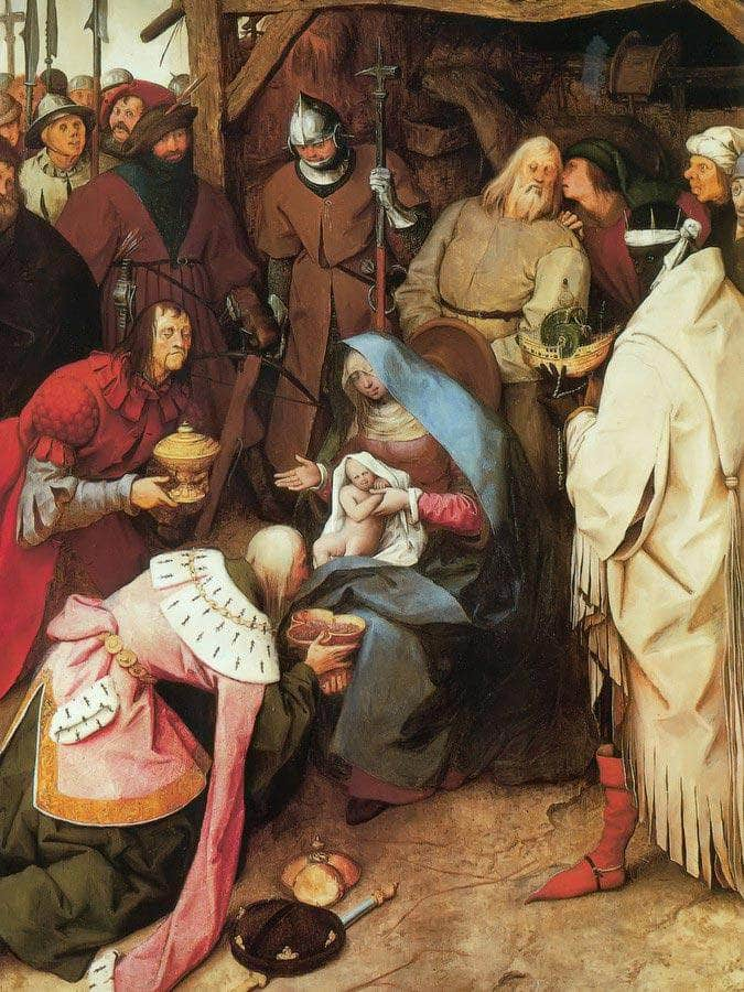 The Adoration Of The Kings 1564 By Pieter Bruegel