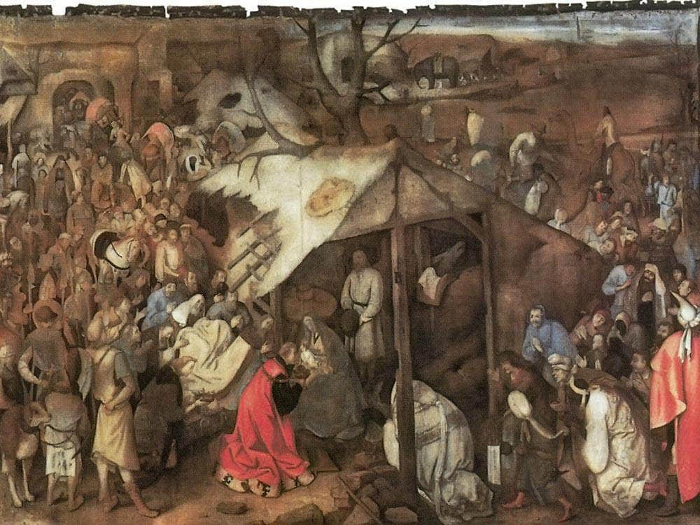 The Adoration Of The Kings Between 1556 And 1562 By Pieter Bruegel
