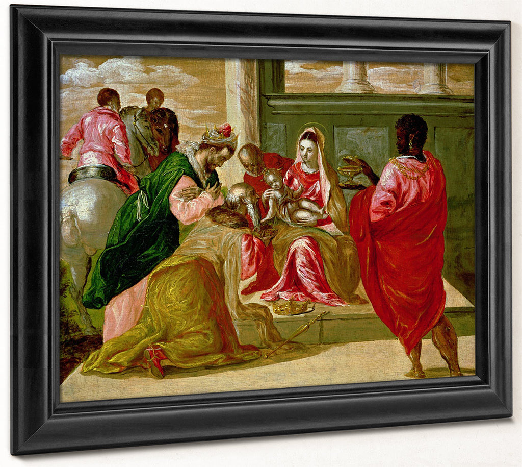 The Adoration Of The Magi By El Greco