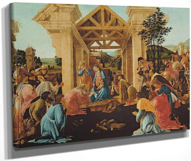 The Adoration Of The Magi By Sandro Botticelli