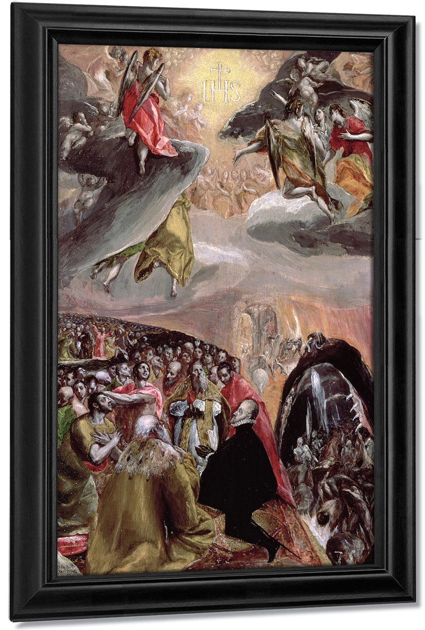The Adoration Of The Name Of Jesus  2 By El Greco