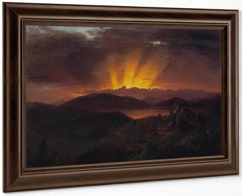 The After Glow By Fredric Edwin Church