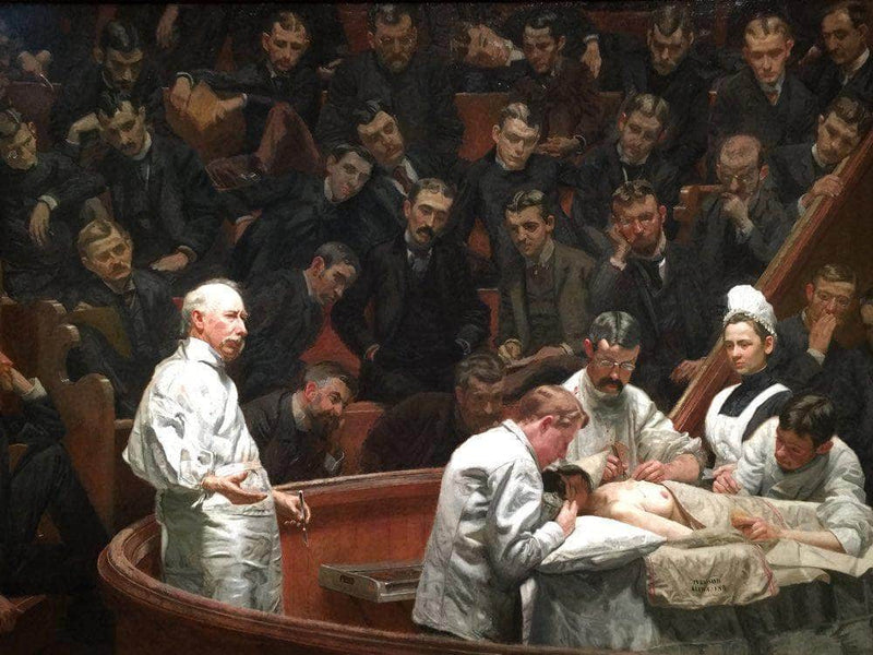 The Agnew Clinic 1889 By Thomas Eakins