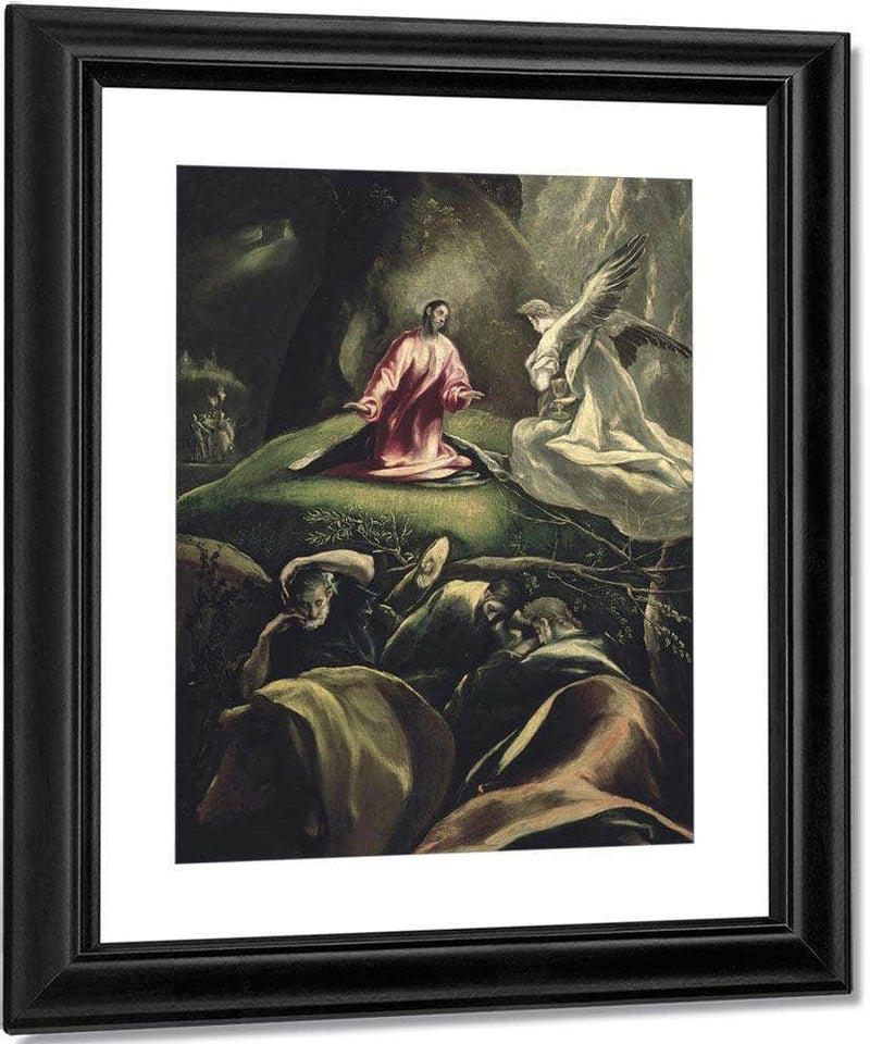 The Agony In The Garden 2 By El Greco