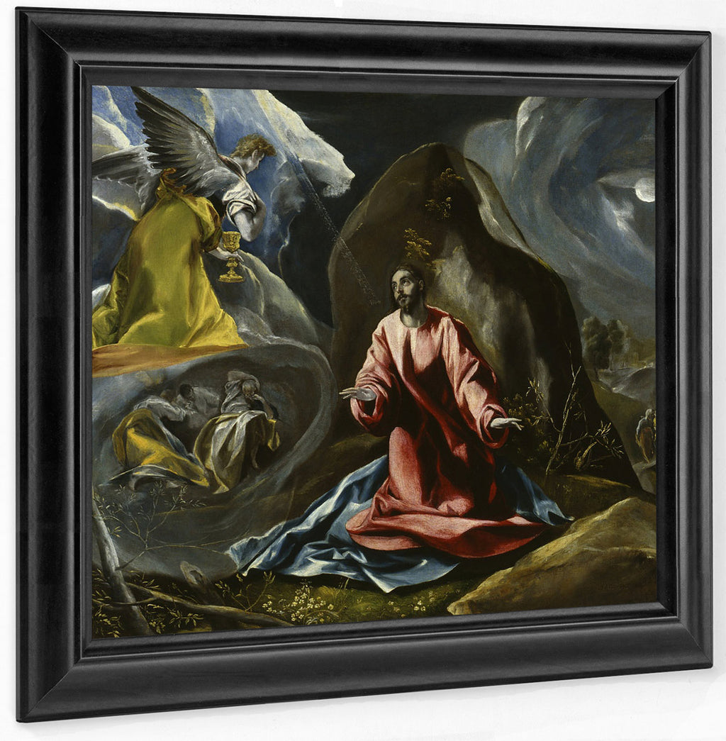 The Agony In The Garden By El Greco