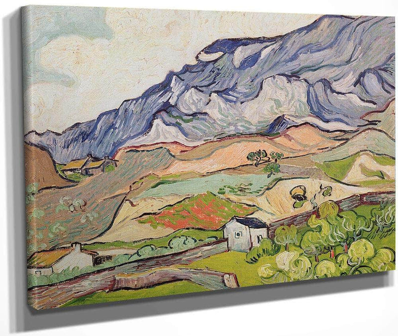 The Alpilles By Vincent Van Gogh