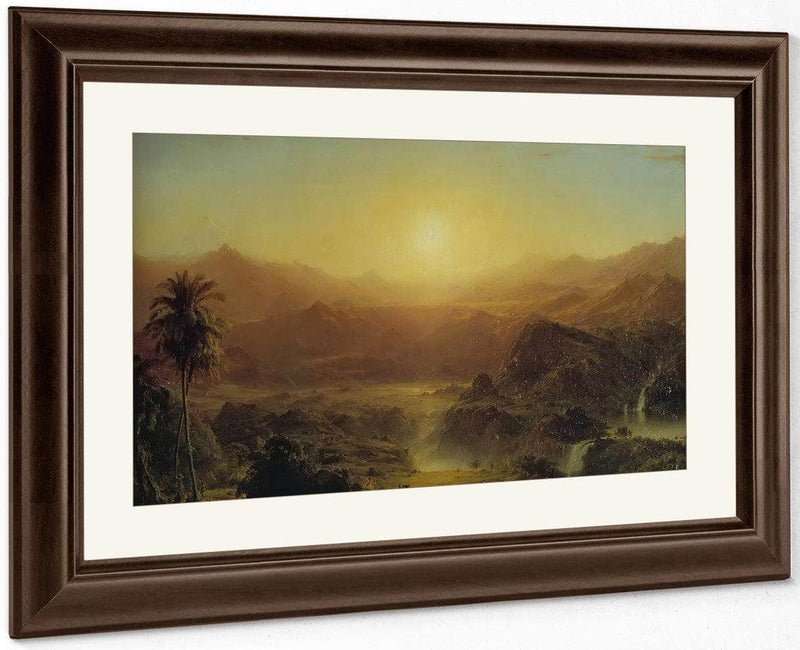 The Andes Of Ecuador By Fredric Edwin Church