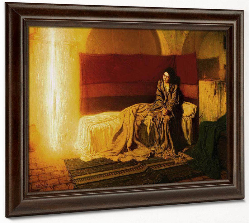 The Annunciation 1898 By Henry Ossawa Tanner