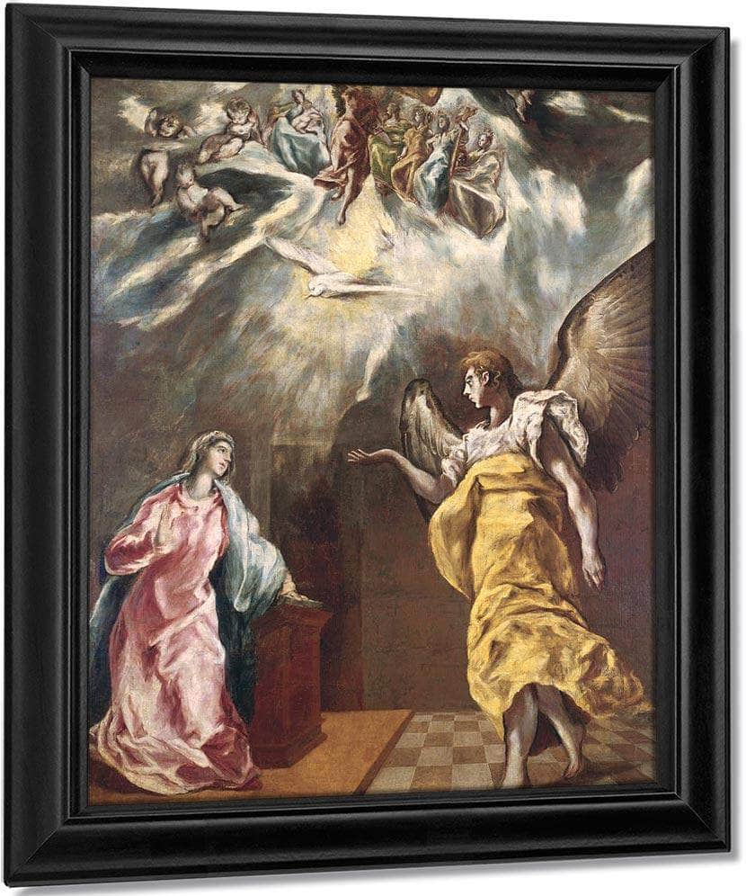 The Annunciation 2 By El Greco