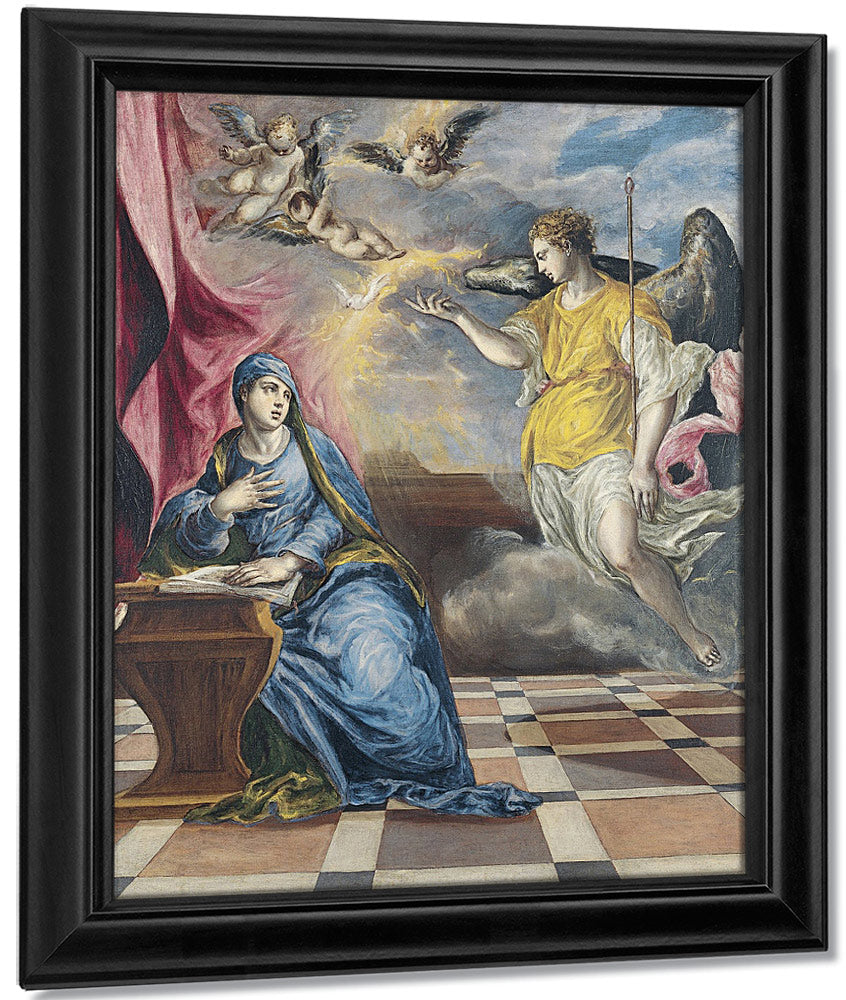 The Annunciation 3 By El Greco