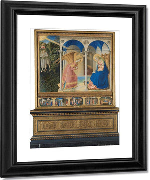 The Annunciation And Life Of The Virgin 1426 By Fra Angelico