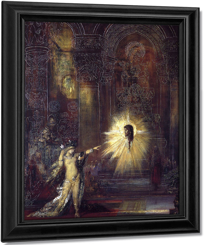 The Apparition 1 By Gustave Moreau