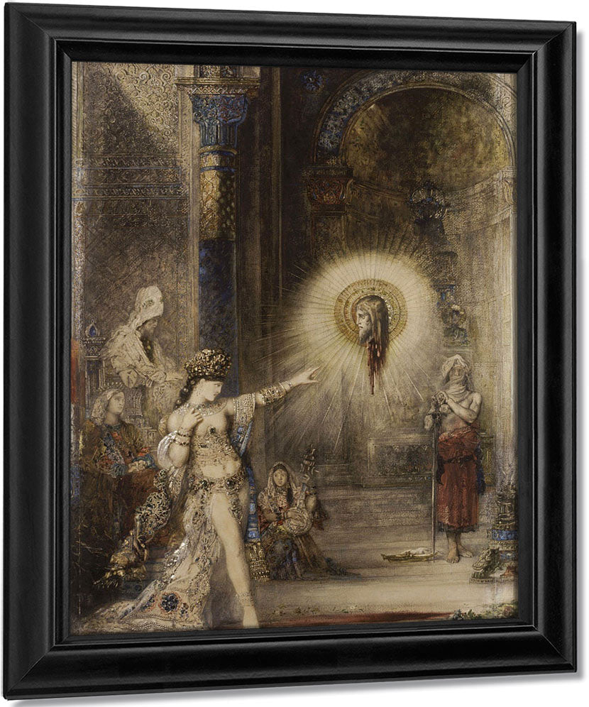 The Apparition 3 By Gustave Moreau