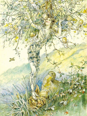 The Apple Tree By William Henry Walker