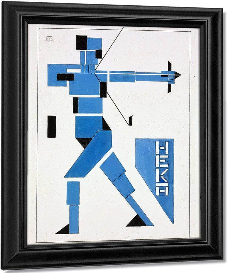 The Archer 1919 By Theo Van Doesburg