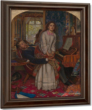 The Awakening Conscience 1853 Tate Britain By William Holman Hunt