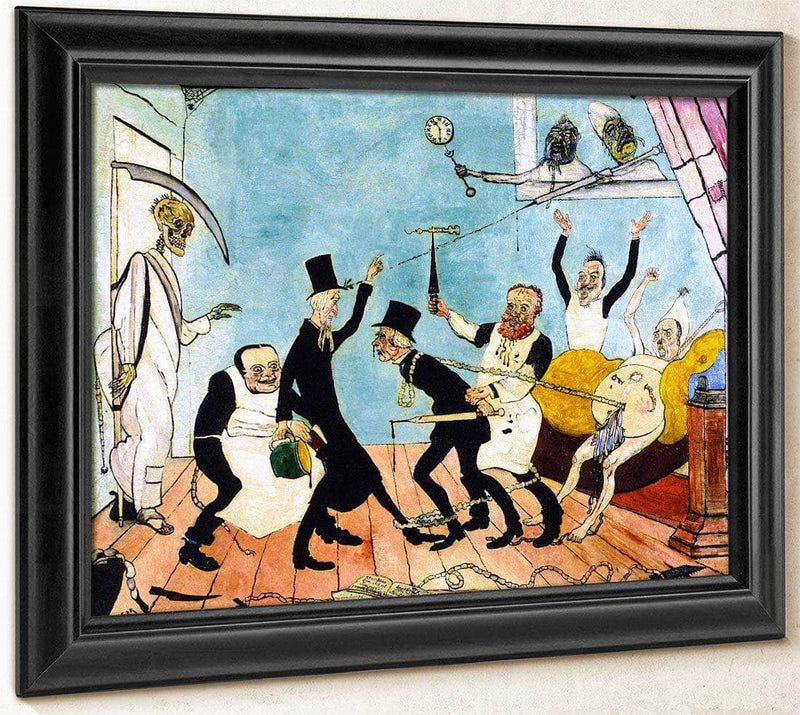 The Bad Doctors By James Ensor