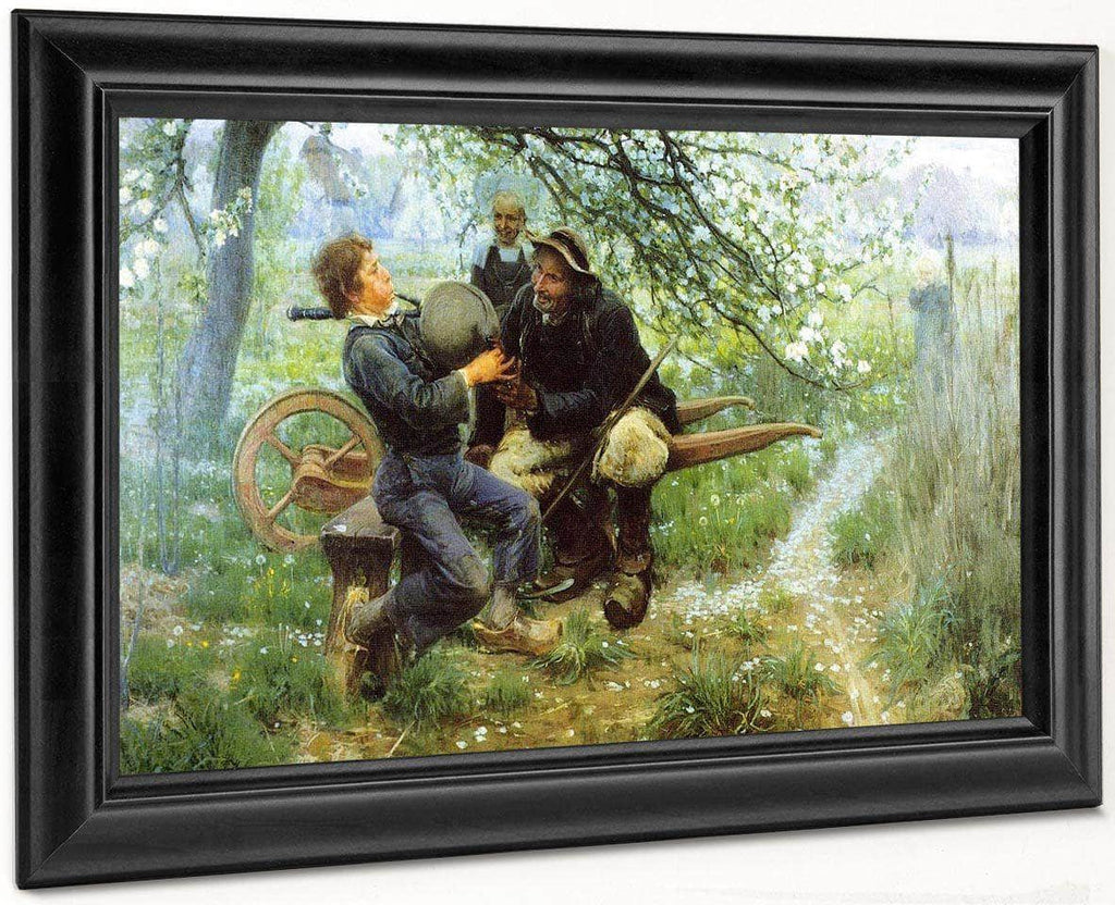 The Bagpipe Lesson By Henry Ossawa Tanner