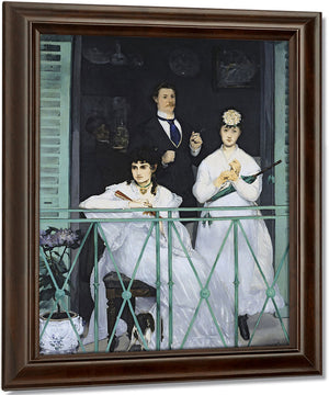 The Balcony By Edouard Manet