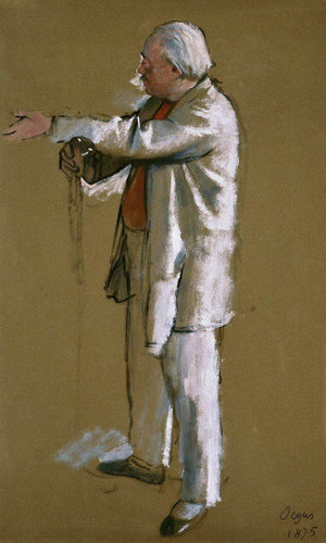The Ballet Master, Jules Perrot By Edgar Degas