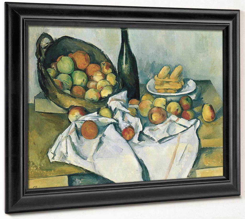 The Basket Of Apples 1894 1 By Paul Cezanne