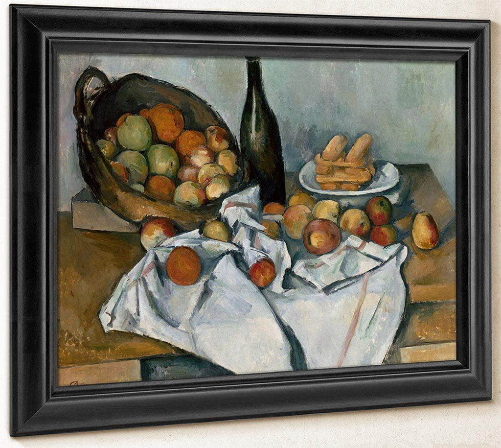The Basket Of Apples By Cezanne Paul