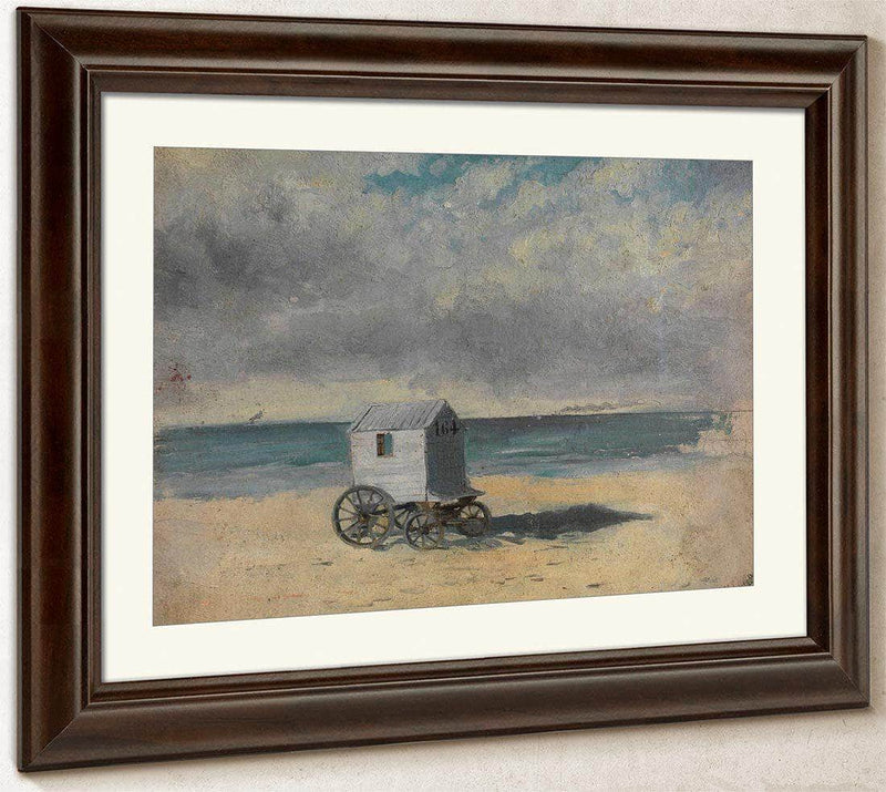 The Bathing Hut By James Ensor