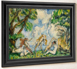 The Battle Of Love By Cezanne Paul